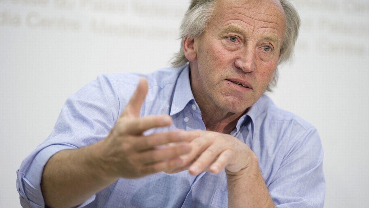 Fernand Cuche, ancien conseiller d'Etat et conseiller national. [Gian Ehrenzeller - Keystone]