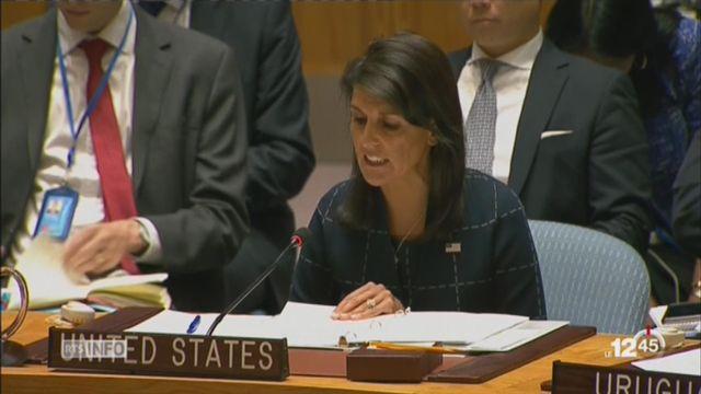 Le Conseil de sécurité de l'ONU a adopté de nouvelles sanctions contre la Corée du Nord [RTS]