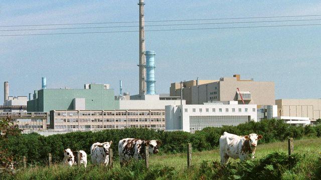 L'usine de retraitement des déchets nucléaires à La Hague en Normandie. [Mychele Daniau - AFP]