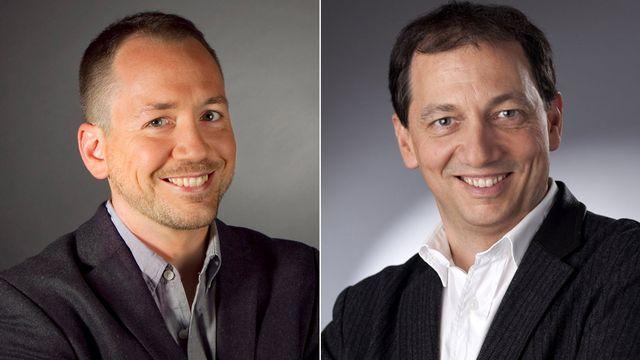 Thibaut Schaller et Pierre-Han Choffat. [Jessica Genoud/Philippe Christin - RTS]