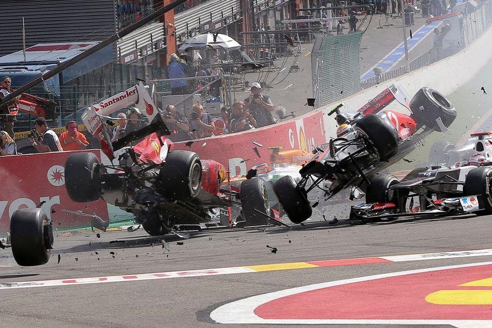 Malgré des évolutions significatives, le facteur fatalité existera toujours en F1. [Valdrin Xhemaj - Keystone]