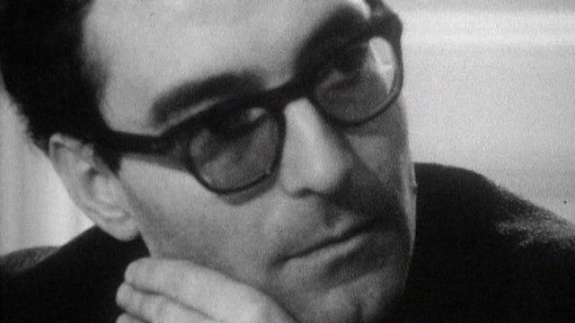 Jean-Luc Godard parle du film Alphaville. [RTS]