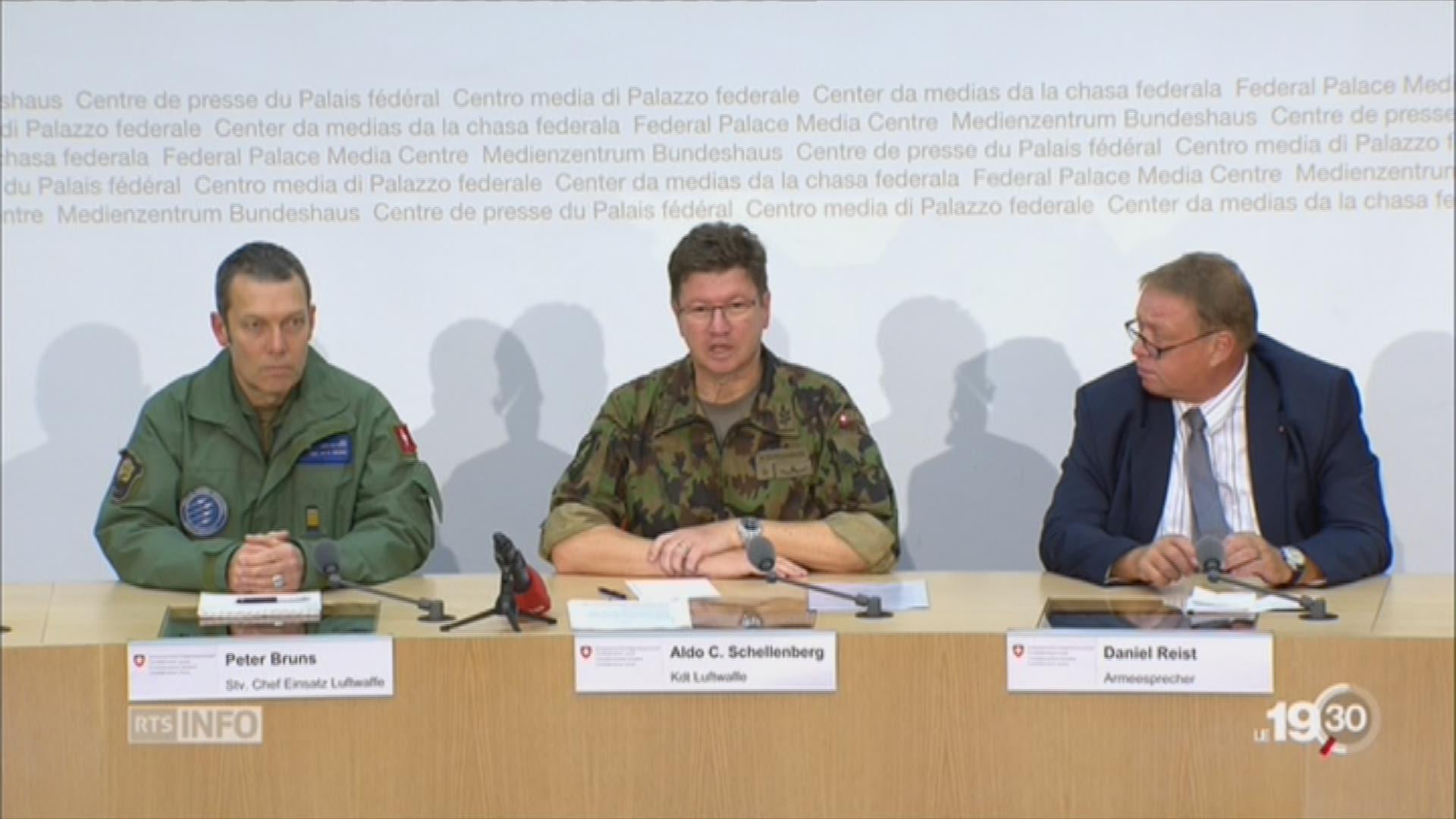 Le PC-7 de l'armée a été localisé dans les Alpes bernoises