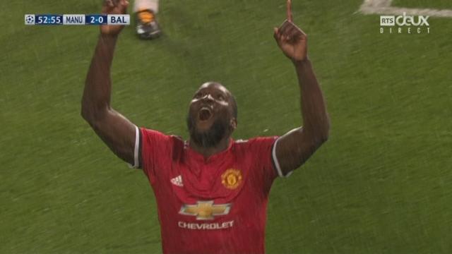 Ligue des Champions, Gr. A, Manchester United - Bâle (2-0): Lukaku double la mise [RTS]