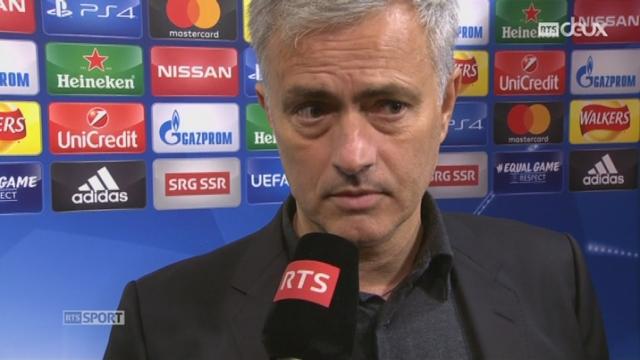 José Mourinho au micro de la RTS [RTS]