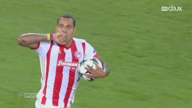 Ligue des Champions, Gr. D, Olympiakos - Sporting Lisbonne (2-3): le résumé du match [RTS]