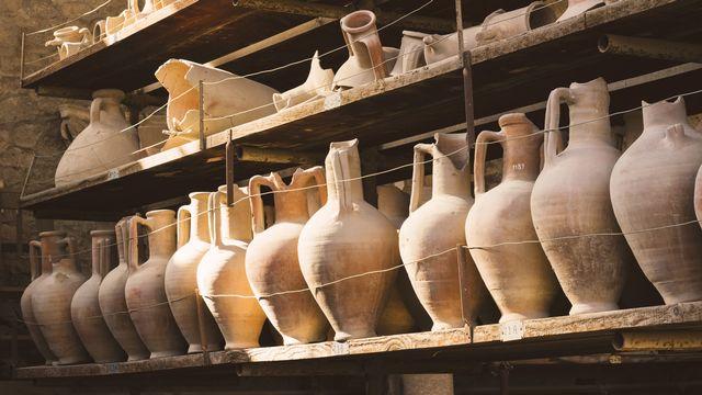 Des découvertes anciennes et des artefacts dans la ville antique de Pompéi en Italie. [Michal - Fotolia]
