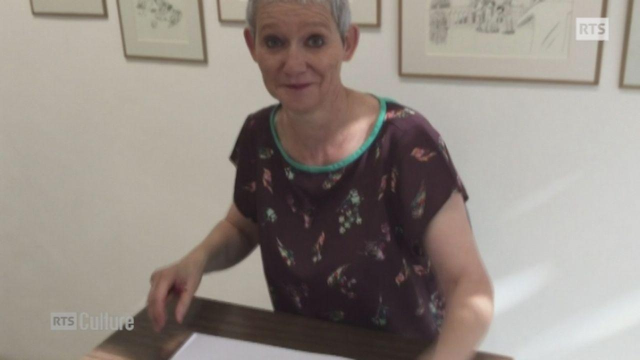 Hélène Becquelin dessine ses souvenirs d'enfance [RTS]