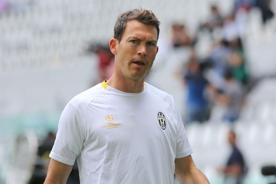 Lichtsteiner ne figure pas sur la liste des joueurs retenus par la Juventus pour la Ligue des champions. [Massimiliano Ferraro - AFP]