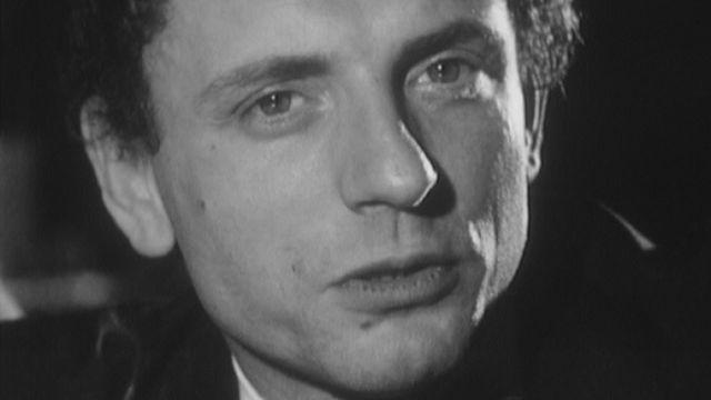 Jacques Martin en interview en 1969. [RTS]