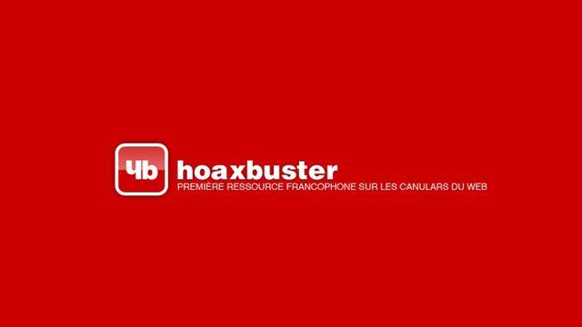 Hoaxbuster, un site qui répertorie les canulars [HB - hoaxbuster.com]