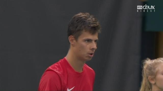 Barrages, match 1: Suisse-Bélarus (4-6, 2-6) [RTS]
