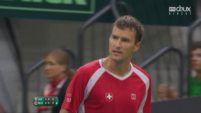 Barrages, match 2: Suisse-Bélarus (6-3) [RTS]