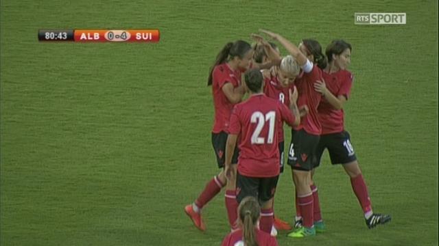Groupe 2 : Albanie – Suisse (1-4), 81e Begolli [RTS]