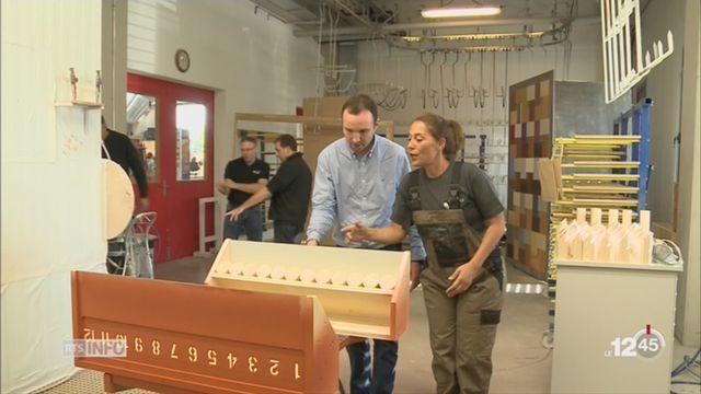 GE: une menuiserie genevoise ouvre ses portes pour les Journées du bois suisse [RTS]
