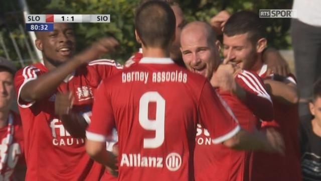 16e, LS Ouchy - Sion 2-1 ap: tous les buts de la rencontre [RTS]