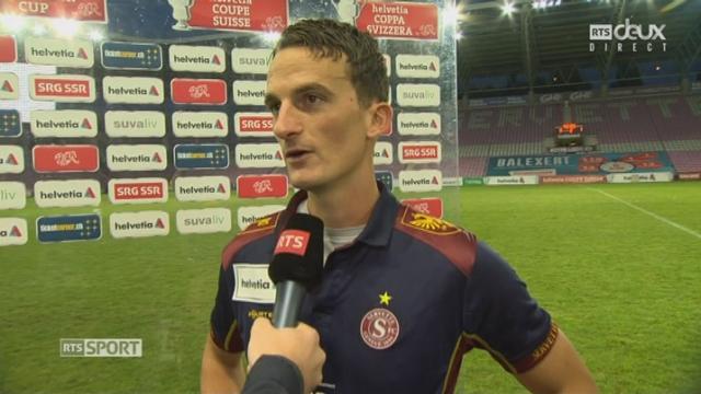 16e, Servette FC - Lucerne 0-1: l'interview du Servettien Steven Lang [RTS]