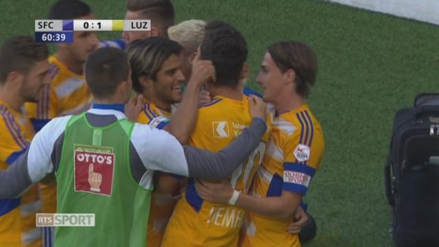 16e, Servette FC - Lucerne 0-1: 60e S. Demhasaj [RTS]