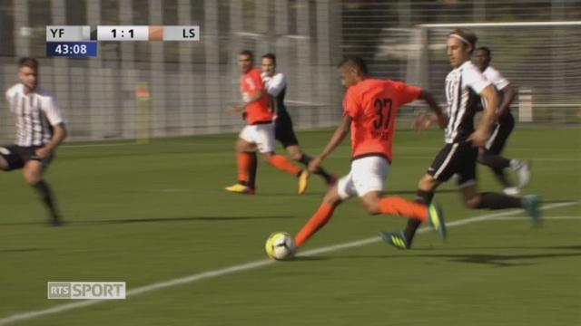 16e, YF Juventus - Lausanne-Sport 1-3: tous les buts de la rencontre [RTS]