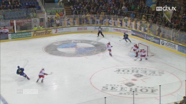 Hockey-National League, 5e journée: Davos – Lausanne (4-6) [RTS]