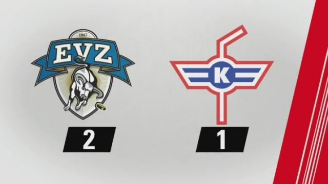 5e journée, Zoug - Kloten, (2-1): tous les buts de la rencontre [RTS]