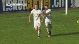 16e, Chiasso - Bâle 0-1: 83e Cedric Itten [RTS]