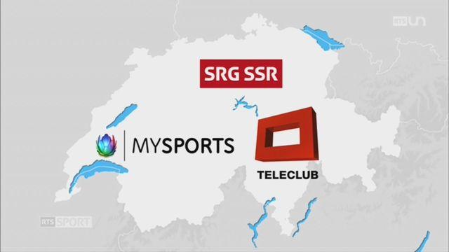Le Mag: la bataille des droits de retransmission du sport [RTS]