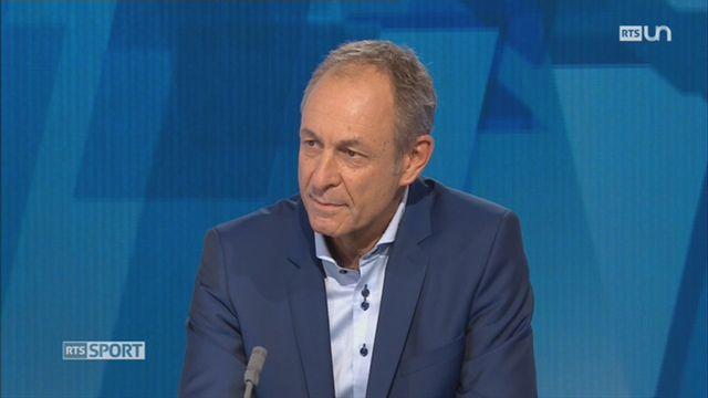 Droits de retransmission: entretien avec Werner Augsburger, directeur de Swiss Volley [RTS]