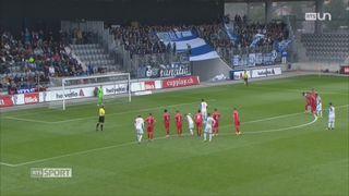 Football - Coupe de Suisse 16es de finale: Bienne – Grasshopper (0-5) [RTS]