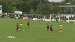 Football - Coupe de Suisse 16es de finale: Echallens – NE Xamax (3-2 ap) [RTS]