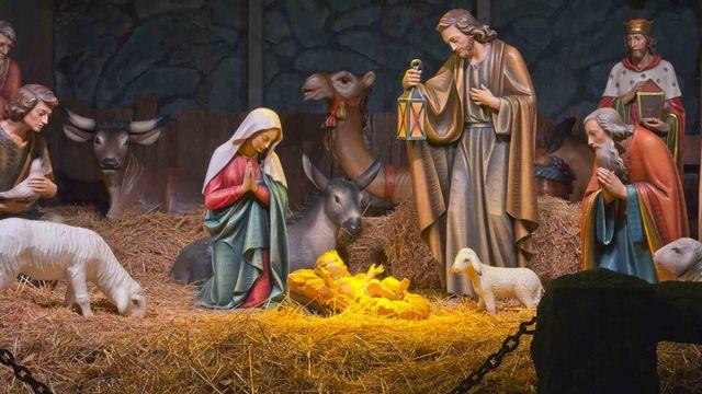Une scène de la Nativité [© RG - Fotolia]
