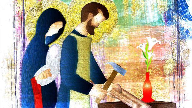 Jésus, Marie, Joseph [© t0m15 - Fotolia]