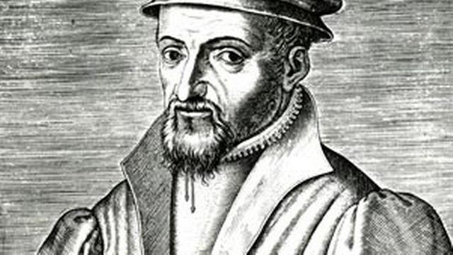 Pierre Viret, réformateur vaudois. [wikimedia]