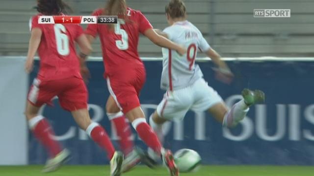 Qualifs, Foot Féminin, Suisse - Pologne (2-1): tous les buts de la rencontre [RTS]