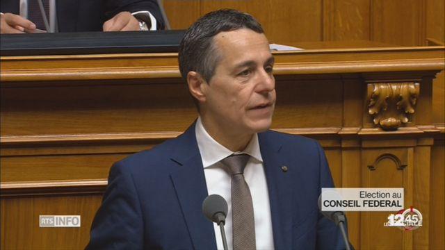 Ignazio Cassis est le 117e conseiller fédéral de l'histoire suisse [RTS]