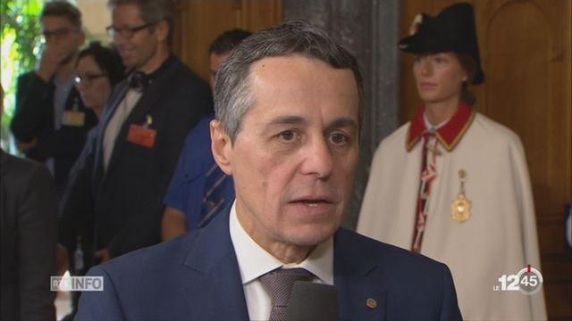 Election au Conseil fédéral: interview d'Ignazio Cassis [RTS]