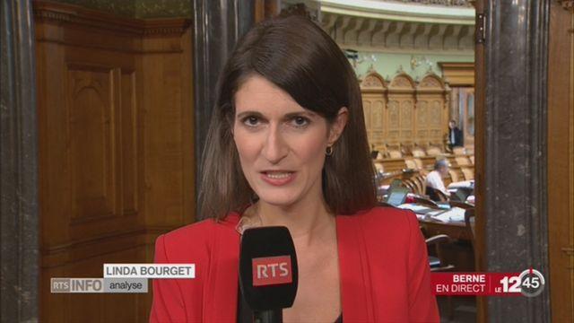 Election au Conseil fédéral: l'analyse de Linda Bourget [RTS]