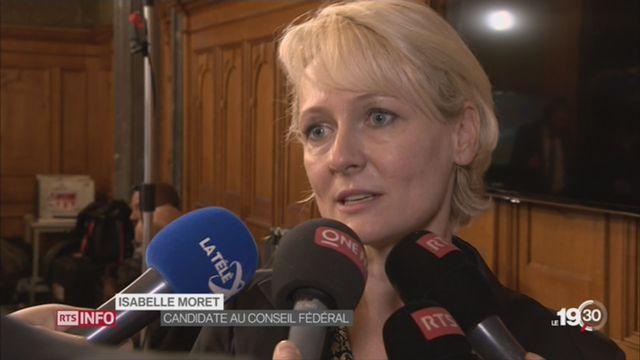 La Vaudoise Isabelle Moret termine au troisième rang [RTS]