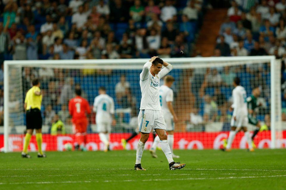 Malgré le retour de Ronaldo, le Real n'a pas trouvé la faille mercredi. [Francisco Seco - Keystone]