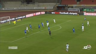 Football: le Lausanne Sport a arraché le match nul contre Zurich [RTS]