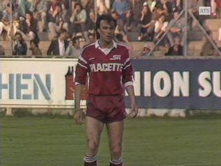 Michel Decastel sous les couleurs du Servette FC en 1988 [RTS]
