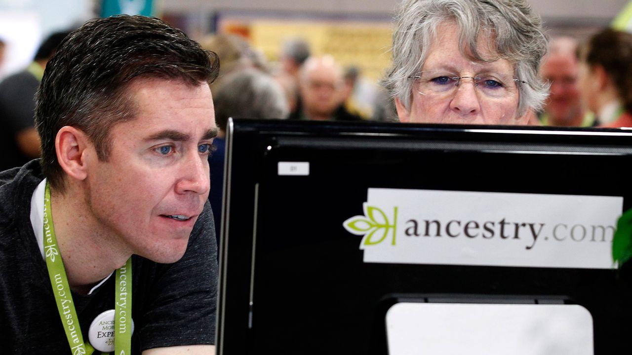 L'entreprise Ancestry propose des analyses ADN pour connaître nos origines. [George Frey - Reuters]