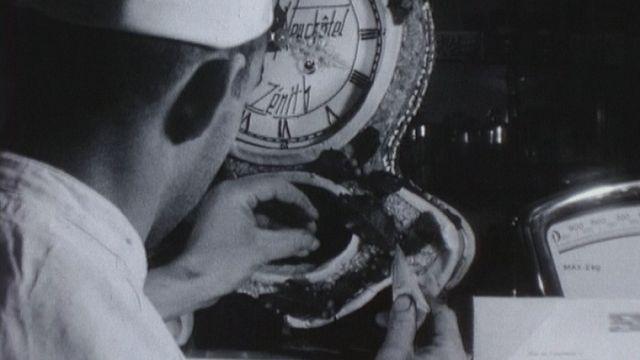 L'horloge en chocolat [RTS]
