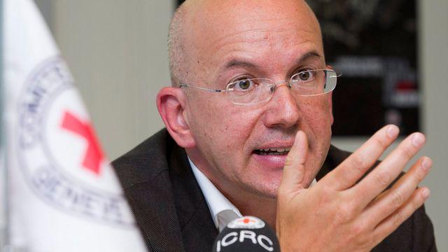 Le directeur général de la Croix-Rouge Yves Daccord. [Keystone]