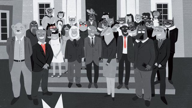 """Dans """"La Fédération"""", Maou raconte les absurdités du monde du travail. [Meili Gernet - Meili Gernet]"""