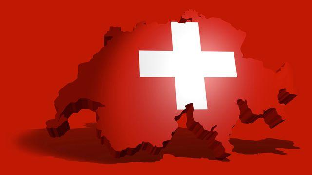 Le drapeau suisse [© ferkelraggae  - Fotolia]