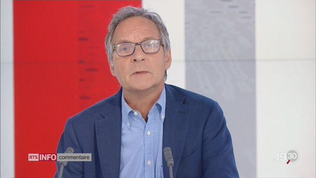 Affaire Constantin: le commentaire de Pierre-Alain Dupuis [RTS]