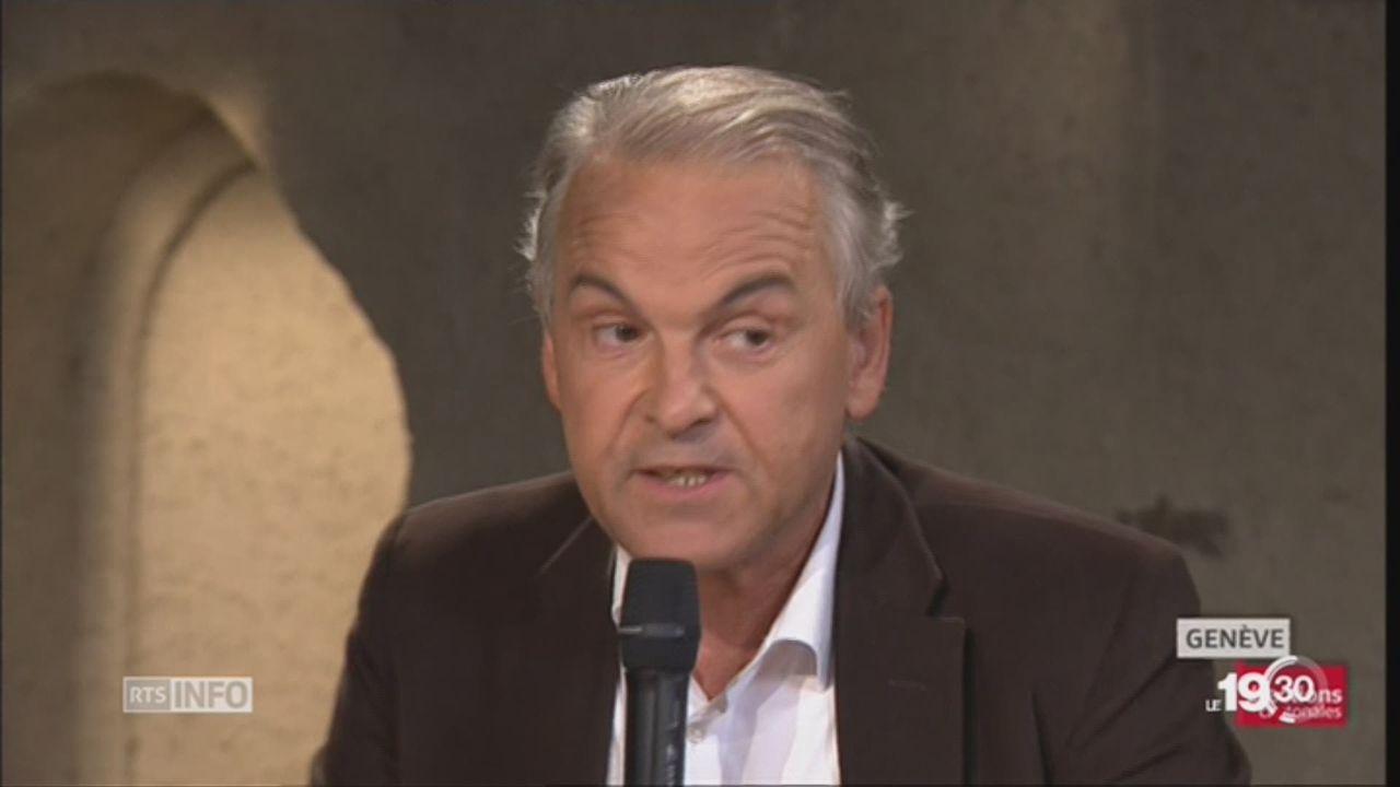 Rémy Pagani mis en cause pour une brochure électorale [RTS]