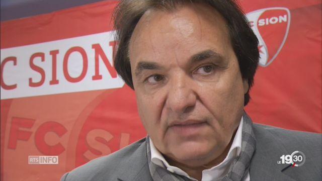 Christian Constantin a agressé physiquement un consultant TV [RTS]