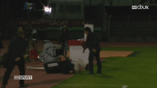 Football: Christian Constantin a agressé physiquement un consultant TV [RTS]